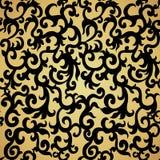 Seamless Pattern Background.Damask Wallpaper. Royalty Free Stock Photo