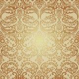 Seamless Pattern Background.Damask Wallpaper. Royalty Free Stock Photos