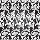 Seamless Pattern Background.Damask Wallpaper. Stock Photography