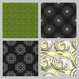 Seamless pattern background. Elegant luxury texture for wallpapers, backgrounds and page fill. Royalty Free Stock Images