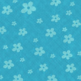 Seamless pattern background with flowers Stock Photo