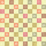 Seamless pattern background with flowers Royalty Free Stock Photography