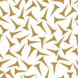 Seamless pattern background gold screw. Vector tools for repair. Industrial equipment. Stock Photos
