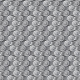 Seamless pattern, background, gray metal bicycle chain Royalty Free Stock Images