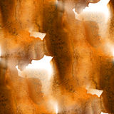 Seamless pattern background. handmade brown abstract watercolor hand painted art. Seamless pattern background. handmade brown abstract watercolor hand painted Royalty Free Stock Image