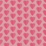 Seamless pattern background with hearts. Vector illustration Royalty Free Stock Photo