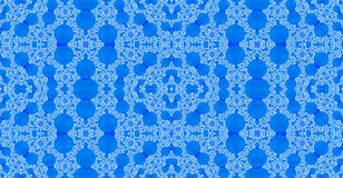 Seamless pattern background ideal for carpets, tapestries, fabric and wallpapers with a detailed geometric pattern of arches Royalty Free Stock Photography