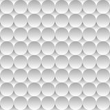 Seamless pattern background of light circles and Royalty Free Stock Image