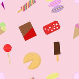 Seamless pattern background lollipops. Stock Images