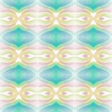 Seamless pattern background with multi-colored wavy lines. Aesthetic multicolored background stock illustration