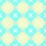 Seamless pattern background with multi-colored wavy lines. Aesthetic color background vector illustration