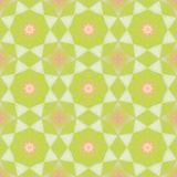 Seamless pattern background with multi-colored wavy lines. Aesthetic colorful background stock illustration