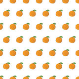 Seamless pattern background orange. Vector Royalty Free Stock Photo