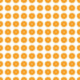 Seamless pattern background orange. Vector. Stock Images