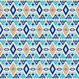 Seamless pattern background. Oriental background with floral motifs designed Royalty Free Stock Photography