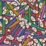 Seamless pattern background pencil. School design vector Stock Photos