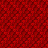 Seamless pattern, background,  red metal bicycle chain Stock Photos