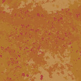 Seamless pattern background red and orange old paint. Vector rust. Worn wall. Stock Photos
