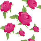 Seamless pattern. Background with roses for fabrics, textiles, p Royalty Free Stock Photography