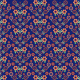Seamless pattern background sixteen. Seamless background pattern designed by the Ottoman Empire stock illustration