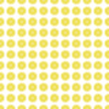 Seamless pattern background with a slice of lemon. Stock Images