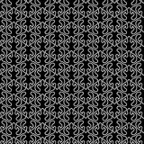 Wavy geometric monochrome seamless texture. Seamless pattern background texture with wavy white lines contrasting with dark black background. Wallpaper or Royalty Free Stock Photos