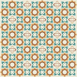 Seamless pattern background thirteen. Seamless background pattern designed by the Ottoman Empire stock illustration