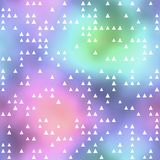 Seamless pattern or background with triangle motif Stock Image