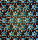 Seamless pattern background twenty version. Seamless background pattern designed by the Ottoman Empire Royalty Free Stock Images