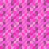 Seamless pattern background from a variety of multicolored squares. Aesthetic colored background vector illustration