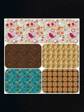 This is a  seamless pattern  background, vector royalty free stock image