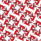 Seamless pattern background whith goldfish Royalty Free Stock Images