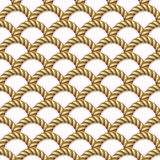 Seamless pattern, background, yellow rope woven Stock Image