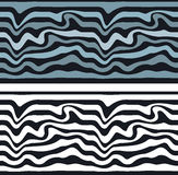 Seamless pattern background Zebra. Set wave seamless pattern background. seamless pattern background Zebra. Gray and black-and-white waves. street art Zebra stock illustration