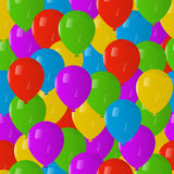 Seamless Pattern Balloones. Seamless pattern colored balloones background Royalty Free Stock Photography