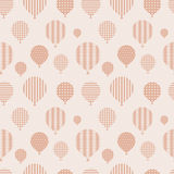 Seamless pattern with balloons. Stock Photo