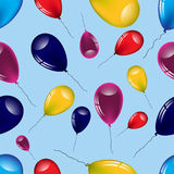 Seamless pattern of balloons.Vector Stock Photos