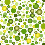 Seamless pattern with balls Stock Image
