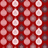 Seamless pattern with balls Stock Images