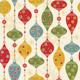 Seamless pattern with balls and stars vector illustration