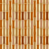 Seamless pattern of bamboo dried sticks. Brown Seamless pattern of bamboo dried sticks vector illustration