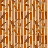 Seamless pattern of bamboo dried sticks Stock Photography