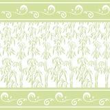 Seamless pattern, bamboo Stock Photography