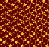 Seamless pattern in baroque style. Stock Images
