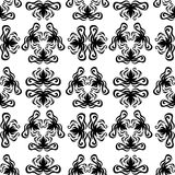 Seamless pattern. Baroque style curves Stock Photography