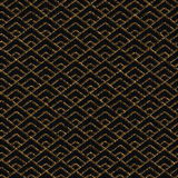 Seamless pattern based on japanese sashiko motif. Royalty Free Stock Image