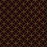 Seamless pattern based on japanese sashiko motifs. Royalty Free Stock Images