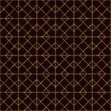 Seamless pattern based on japanese sashiko motifs. Stock Photography