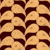 Seamless pattern based on traditional Asian Royalty Free Stock Images