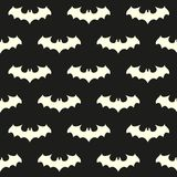 Seamless pattern with bat Stock Photography